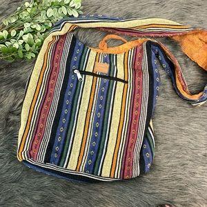 Kyber Outterwear Bohemian Messenger Tote Bag